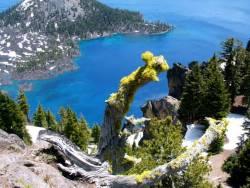 Кратерното езеро в Орегон